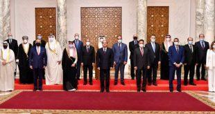 السيسي استقبل وزراء ومسؤولي الإعلام